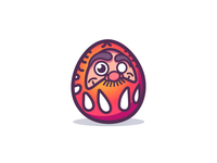 Daruma Doll WIP for personal website