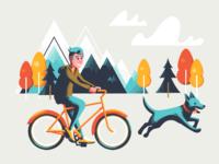 Jo's Bike ride