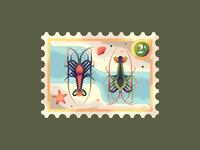 Two Rock Lobsters