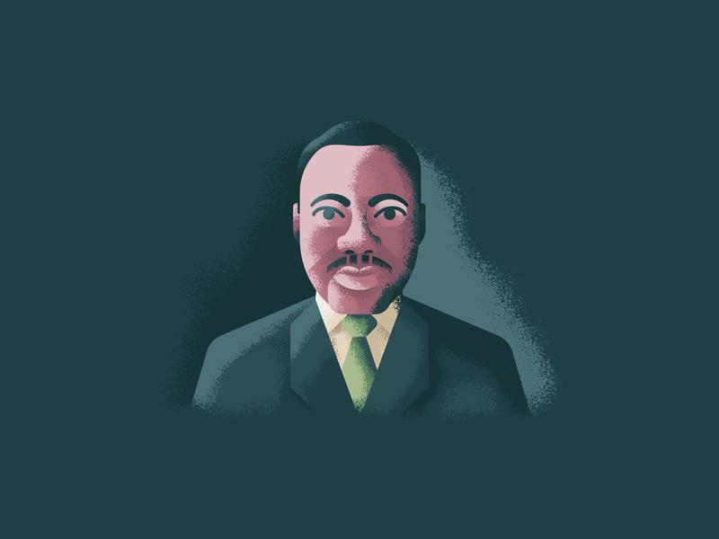 Martin Luther King Jr By Tatiana Bischak Dribbble Dribbble