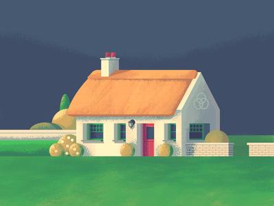 Irish Cottage Revisit: Texture