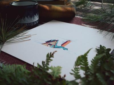 A-Frame of Mind Prints