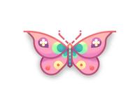 Lia's Fancy Butterfly