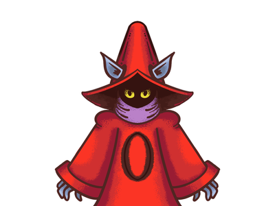 He-Man Project: Orko collaboration procreate illustration he-man orko
