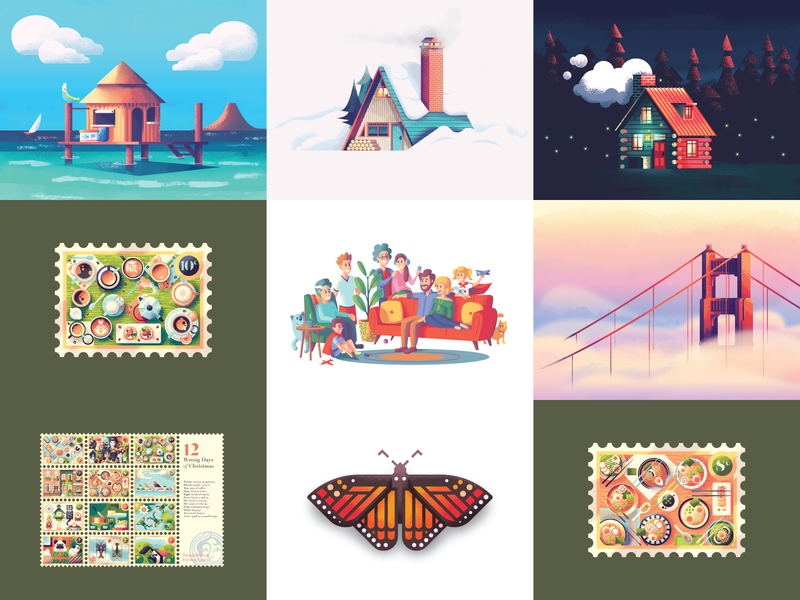 Top Nine for 2019 illustrator illustrations illustration illustration design illustration digital illustration art top nine