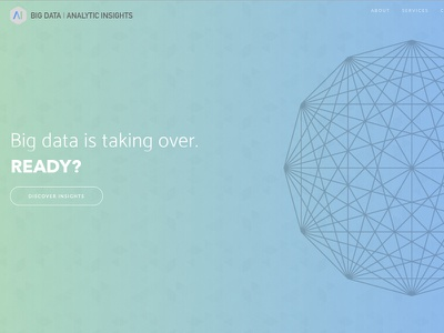 Big Data Analytics Insights Website branding website bigdata