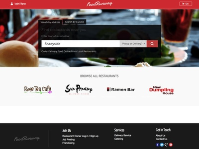 FoodRunway webapp website