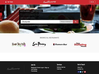 FoodRunway webapp website