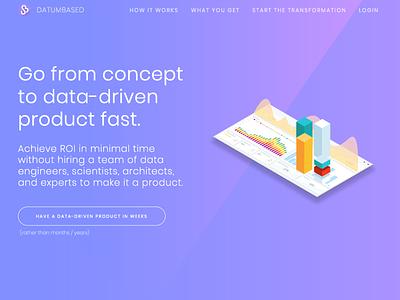 Datumbased Website brand website