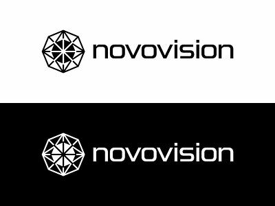 novovision vision kaleidoscope mark symbol logodesign logotype logo