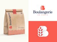 Boulangerie symbol cafe lettering logodesign logotype sign icon logo bread bakery boulangerie