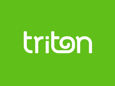 triton tail letter lettering logodesign logotype logo lizard chameleon triton