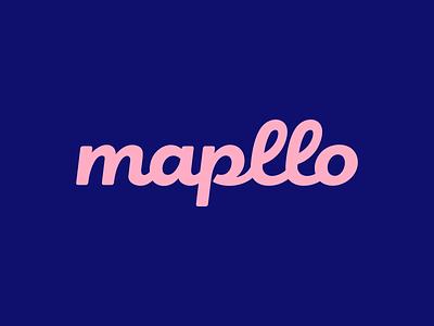Mapllo type font typeface typogaphy design lettering logodesign logotype logo