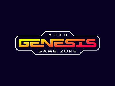 Genesis emblem lettering logodesign logotype logo gamezone cybersport cyber genesis game