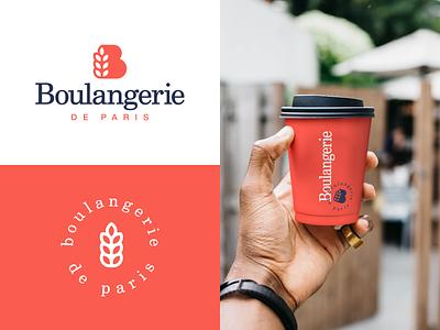 Boulangerie brand cafe bread bakery letter symbol logodesign logotype sign icon logo
