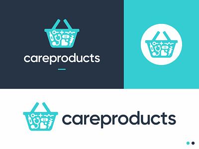 careproducts symbol logodesign logotype sign icon logo medicine medical basket care