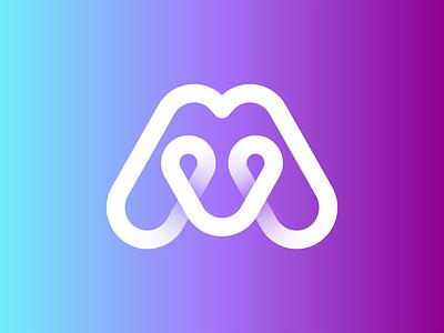 Mapllo icon pin map mark lettering monogram letter symbol logodesign logotype sign icon logo