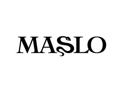 MASLO branding dress wordmark s snake monogram symbol logodesign logotype sign icon logo