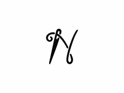 N / Needle / Alphabet 2