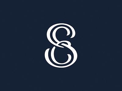 Se Monogram icon sign logo letters monogram personal se