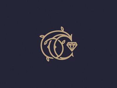 С - Celebrity с studio sign mark logo letter jewelry emblem diamont celebrity brilliant