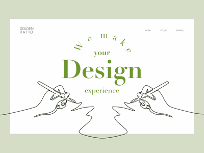 Design studio vector design ui