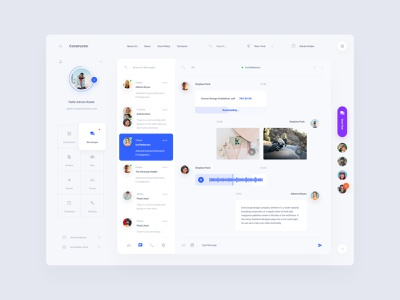 Messenger Apps template admin dashboad download app messenger