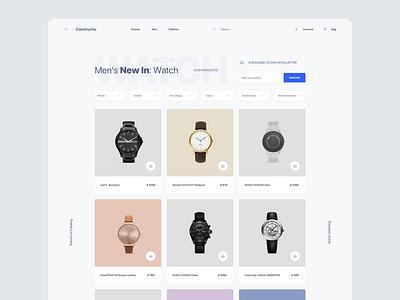 Watch Store tempalte store watch