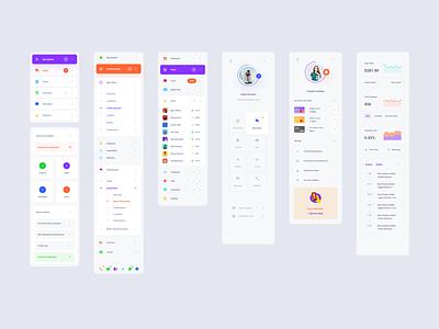 Navigate Dashboard xd sketch figma ui kit ui interface dashboard