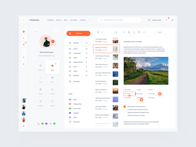 Notes Dashboard Figma, Sketch, XD Download web ux ui interface sketch xd figma dashboard