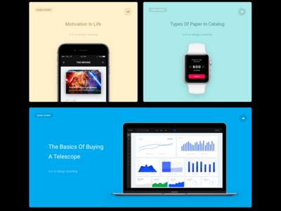 UI&UX Agency Template