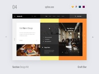 04 Bar, Section Design Kit