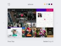 13 Flower Shop, Section Design Kit