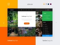 17 Landscaping, Section Design Kit
