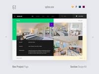61 Construction Portfolio, Section Design Kit