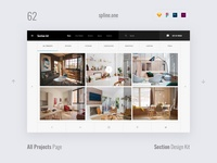 62 Projects, Section Design Kit
