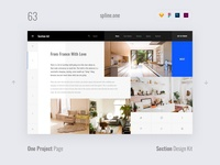 63 Projects, Section Design Kit