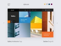 67 Gallery, Section Design Kit