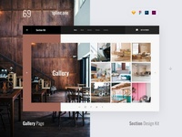 69 Gallery, Section Design Kit