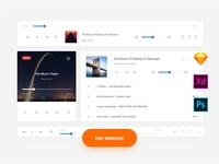 Fee Music UI Kit