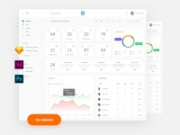 Free Dashboard Template