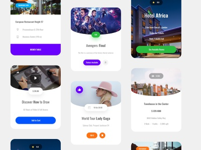 Metaform Responsive UI Kit #6 design uikit donwload ui blocks template kit symbols adobe xd ui kit interface web ui sketch ux