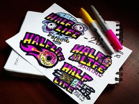 HALF-LIFE skate crew - sketch