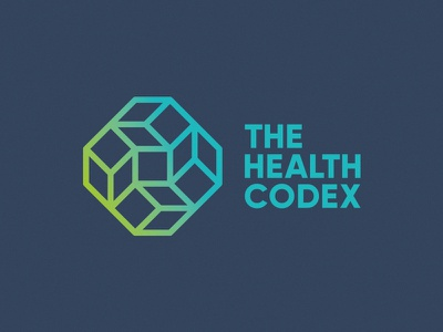 The Health Codex being well cube symbol mark logo geometry sacred codex health