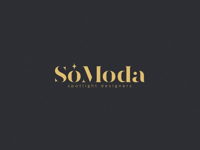 Só Moda designer moda shop online blog spotlight fashion design logotype logo