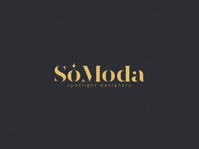 Só Moda designer moda shop online blog spotlight fashion design logotype logo