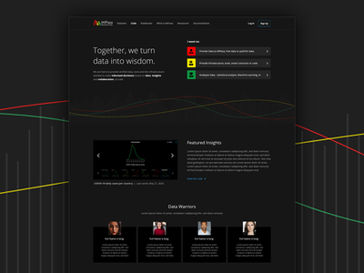MiPasa branding website dark ui web design