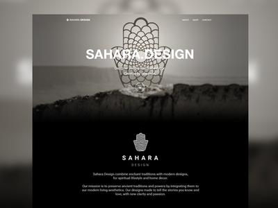 Sahara.Design branding