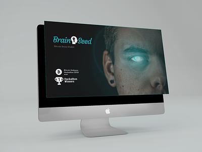 BrainSeed Brand presentation hackathon bitcoin brand