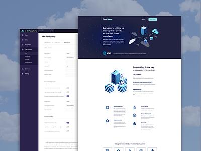 Cloudskipper website branding design web